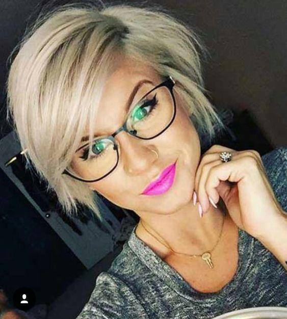 Brillenträgerinnen frisur 33 Beste