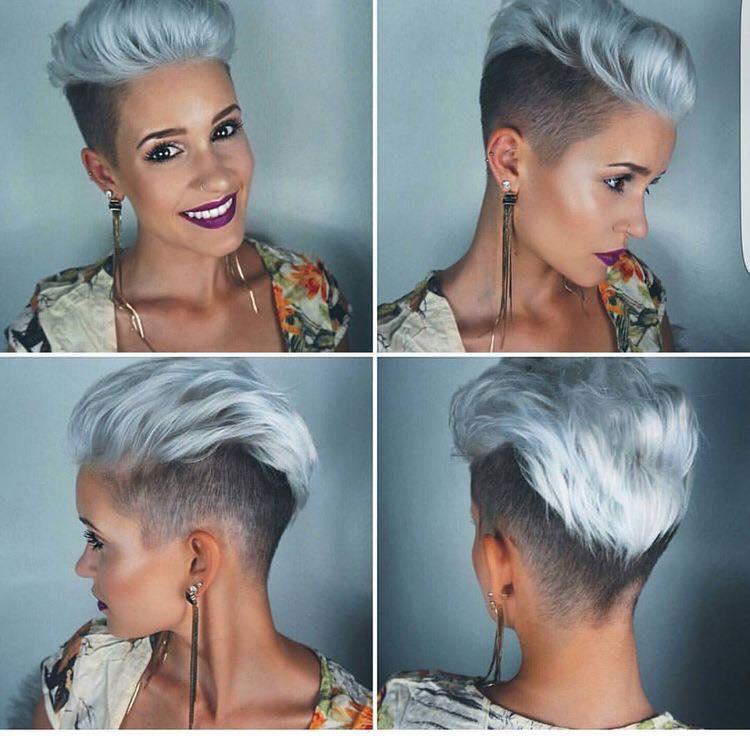 11+ heißeste Platinum Haar Look, Schöner mit diese Haarschnitte