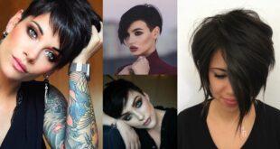 Schwarze haare- Schnitte und nuancen nicht verlieren