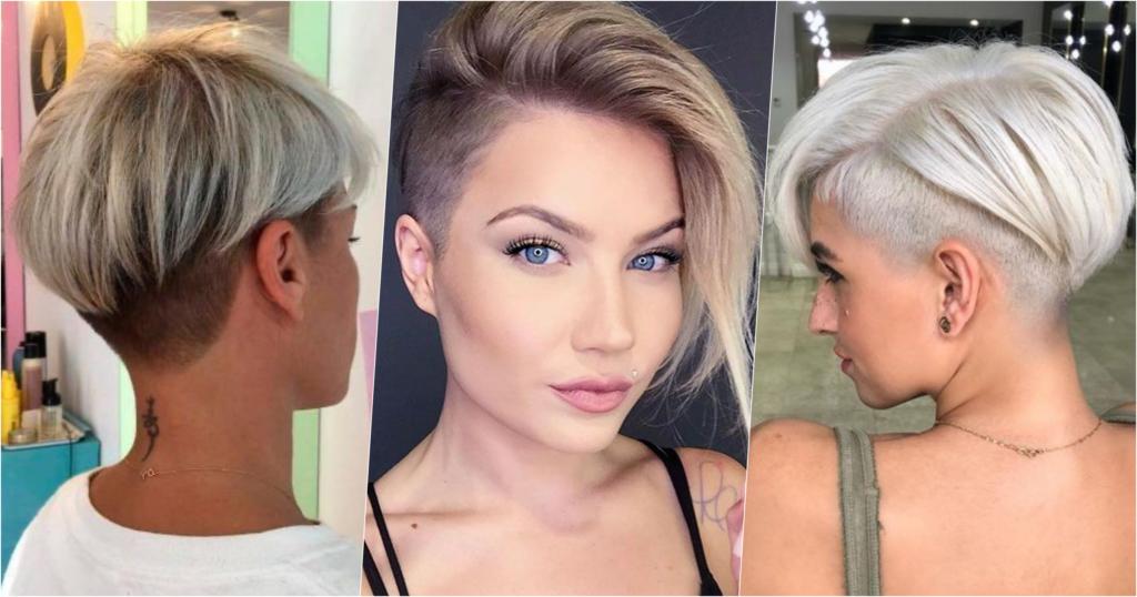 Haarschnitte frauen undercut für 29 Liebreizende
