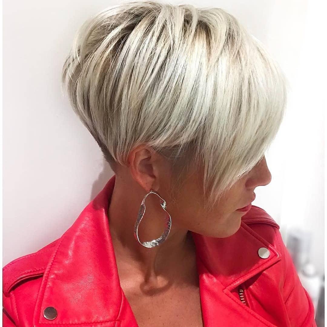 9+ kurze Frisuren, einfach zum wohlfühlen - Freche Frisuren
