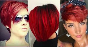 5 Faszinierende kurze rote Frisuren