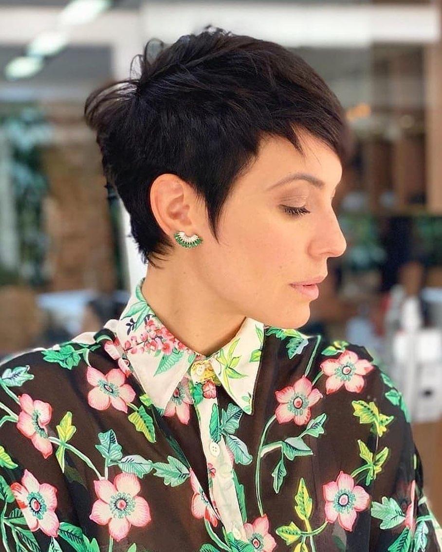 Spezielles Haar: 16 trendige schöne und sexy Kurzhaarfrisuren