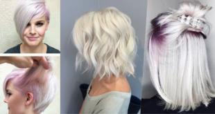 Haare weiß färben: Diese Haarfarbe ist jetzt Trend