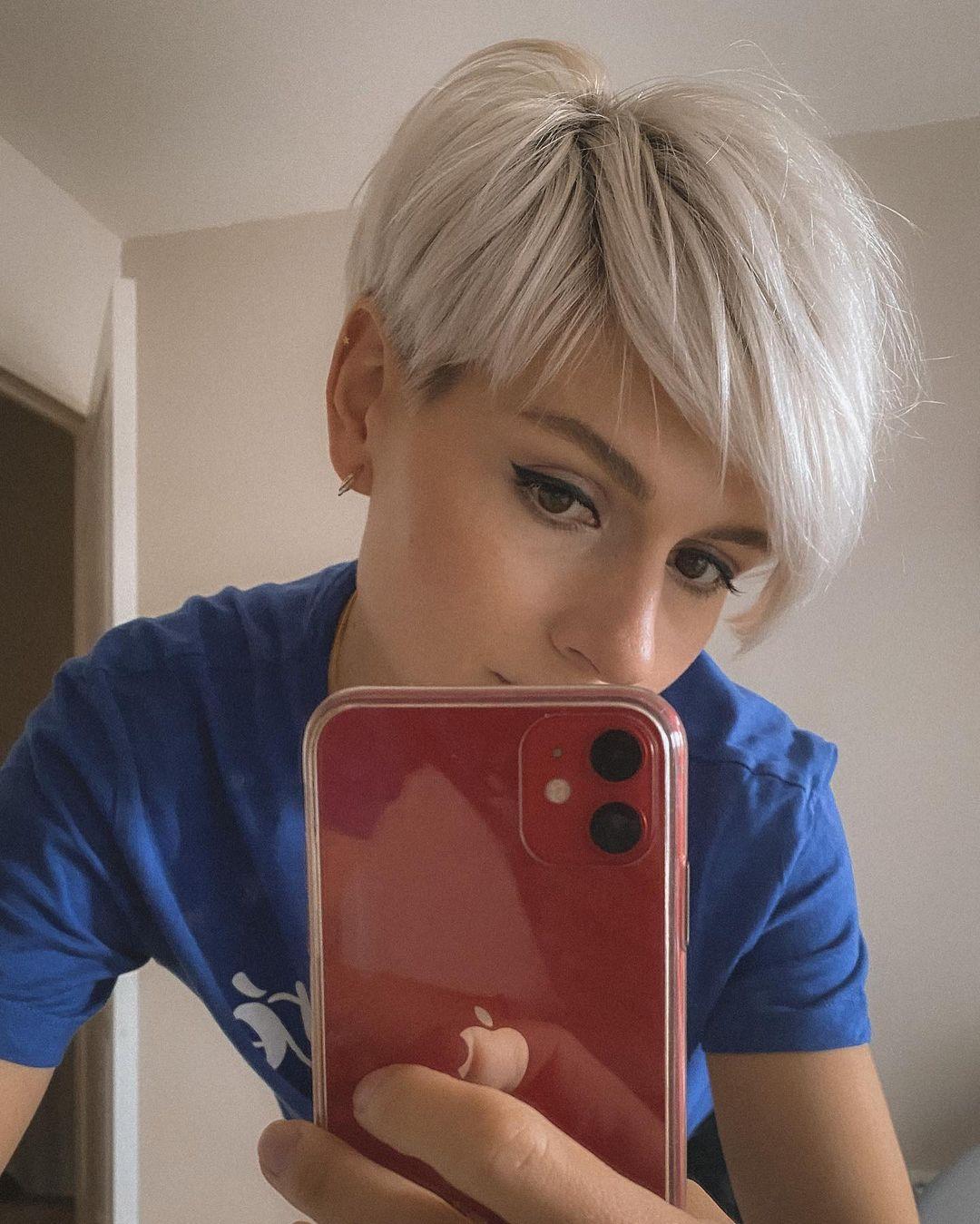 Irina Games Kurze Frisur.Wie findet ihr einen Pixie Cut?