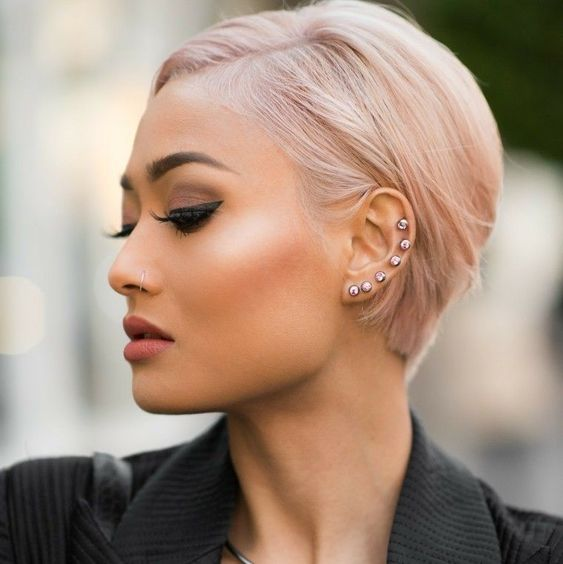 15+ blonde Pixie Frisuren für Frauen