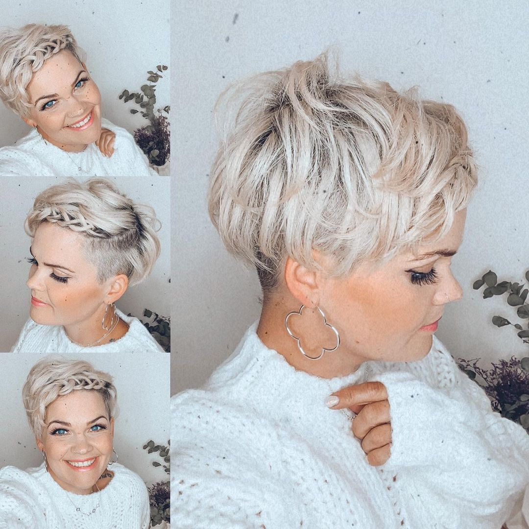 10 Frisuren, die Sie in 10 Sekunden machen können