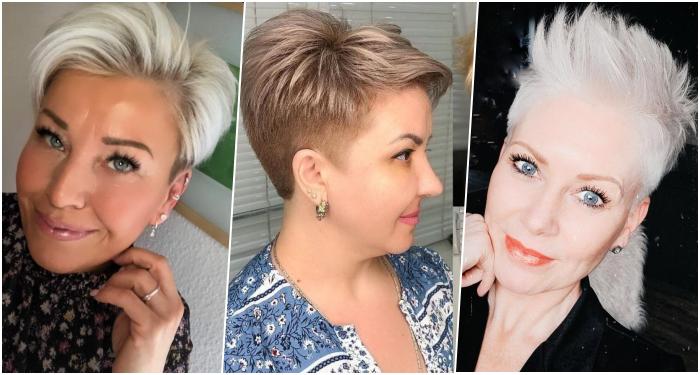 Kurze Frisuren, die auch besonders bei Frauen über 50 im Trend liegen!